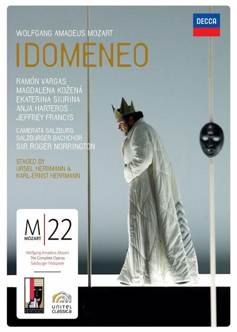 Mozart: Idomeneo |Ramón Vargas, Magdalena Kozená m.fl., Camerata Salzburg, dir. Roger Norrington | Decca 074 3169