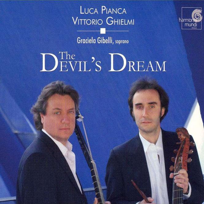 The Devil's Dream | Musik af Dowland, Simpson, Purcell, Rosseter, m.fl. | Vittorio Ghielmi (viola da gamba), Luca Pianca (lut), Graciela S. Gibelli (sopran) | Harmonia Mundi 987066 | Magasinet KLASSISK