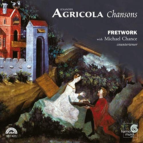 Agricola: Chansons I Fretwork, Michael Chance (kontratenor) | Harmonia Mundi USA 907421 | Magasinet KLASSISK