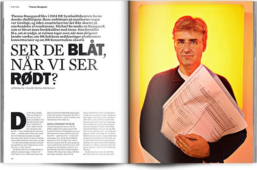 »Ser de blåt, når vi ser rødt?«   Interview Thomas Dausgaard   Magasinet KLASSISK