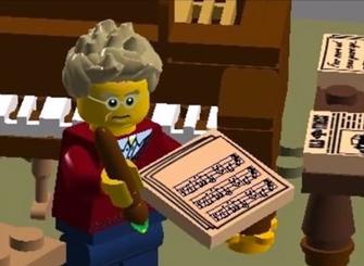 Pelle Gudmundsen-Holmgreen som LEGO-mand | MAGASINET KLASSISK ...