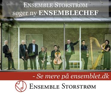 Ensemble Storstrøm søger ny Ensemblechef 2020