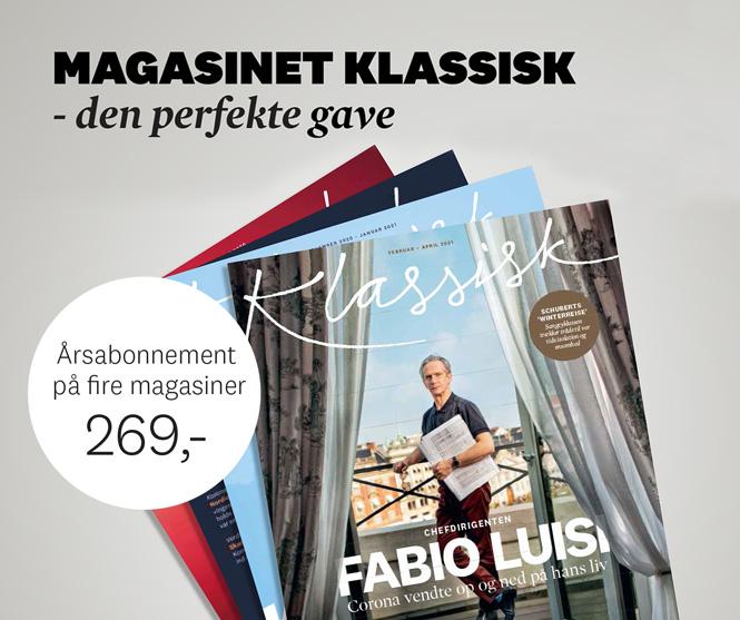Giv et abonnement i gave | Magasinet KLASSISK