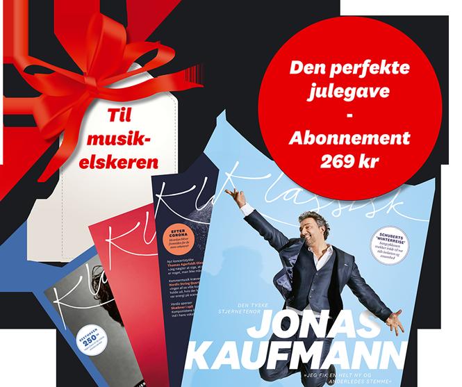 Giv et abonnement i julegave | Magasinet KLASSISK
