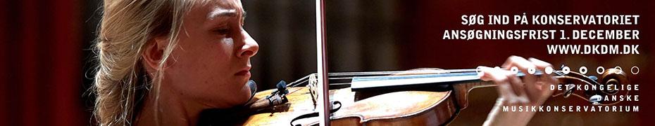 Skal du til optagelsesprøve på Det Kongelige Danske Musikkonservatorium? | DKDM