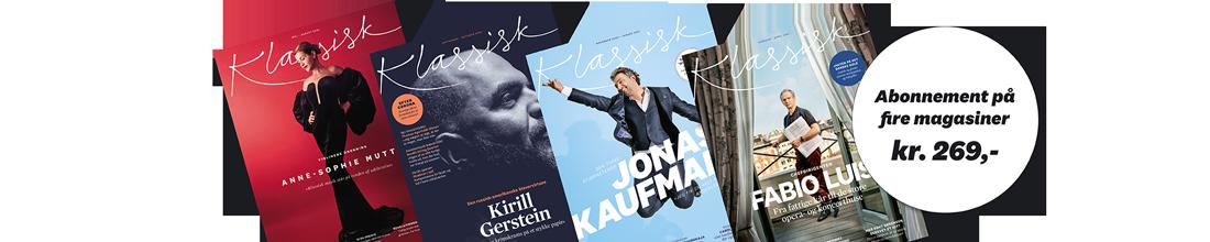 Bestil et abonnement | Magasinet KLASSISK
