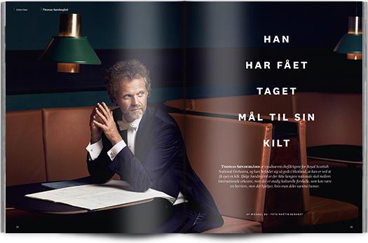 Han har fået taget mål til sin kilt | Interview Thomas Søndergård