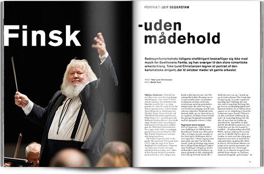 Magasinet KLASSISK nr. 10 | Finsk, uden mådehold | Portræt Leif Segerstam