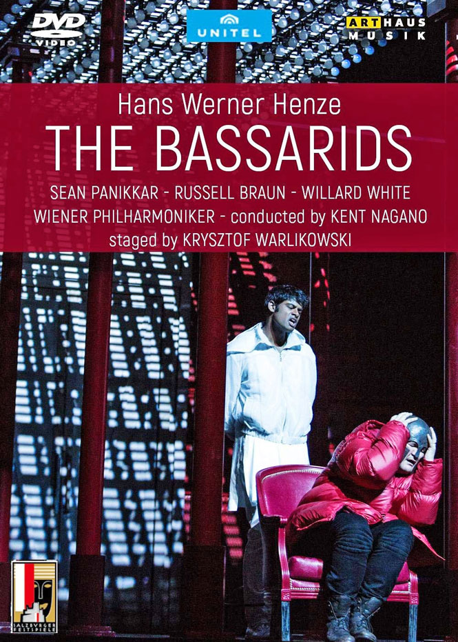 Hans Werner Henze: The Bassarids | Arthaus Musik 109412 | Pladenyt | Magasinet KLASSISK