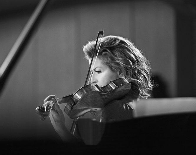 Anne-Sophie Mutter - Violinist truer med at forlade koncert   Magasinet KLASSISK
