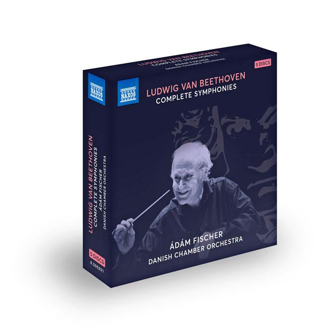 Beethoven: Symfonierne | Naxos 8505251 | Magasinet KLASSISK