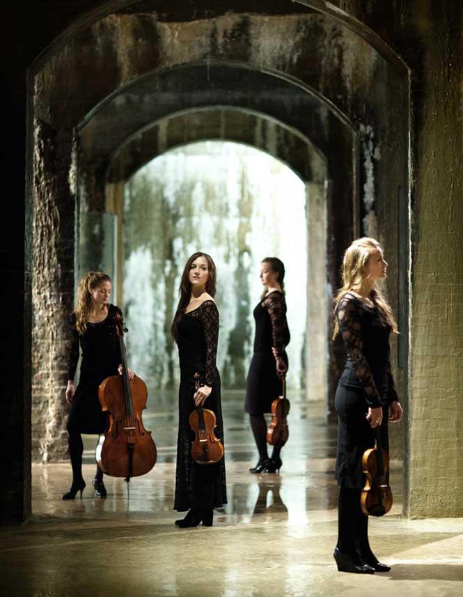 Nightingale String Quartet under Wilhelm Hansen Fondens vinger | Magasinet KLASSISK