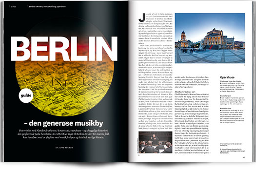Berlin – den generøse musikby | Guide | Magasinet KLASSISK