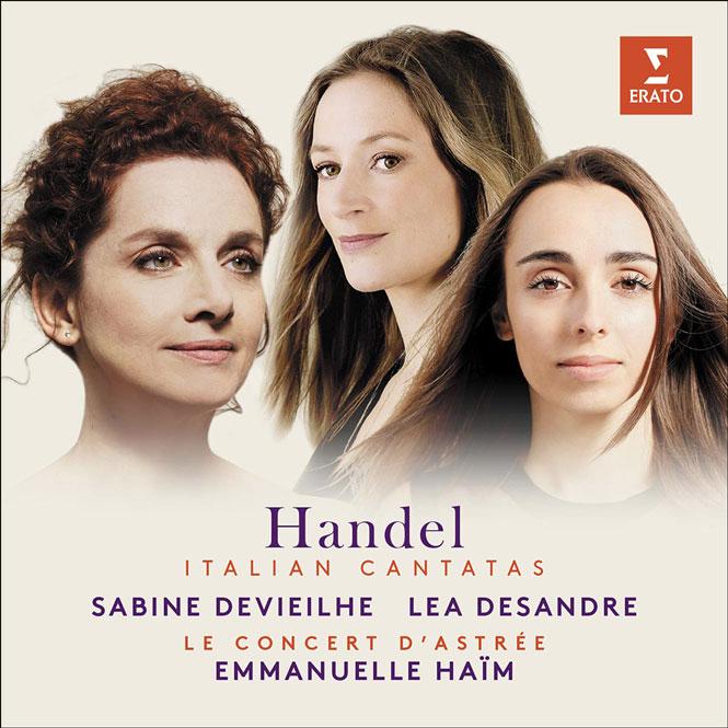 Sabine Devieilhe, Lea Desandre (mezzosopran), Le Concert d'Astrée, dir. Emmanuelle Haïm. Erato 9029563362 | Magasinet KLASSISK