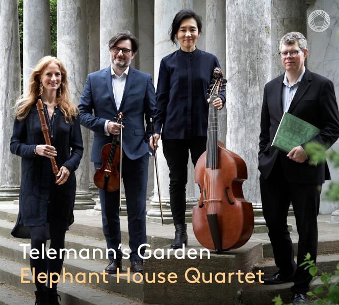 Elephant House Quartet: Telemanns Garden | Pentatone PTC5186749 | Magasinet KLASSISK