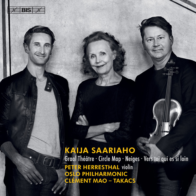 Kaija Saariaho: Circle Map | BIS 2402 | Magasinet KLASSISK