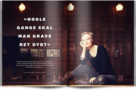 »Nogle gange skal man grave ret dybt« | Interview Tine Topsøe | Magasinet KLASSISK