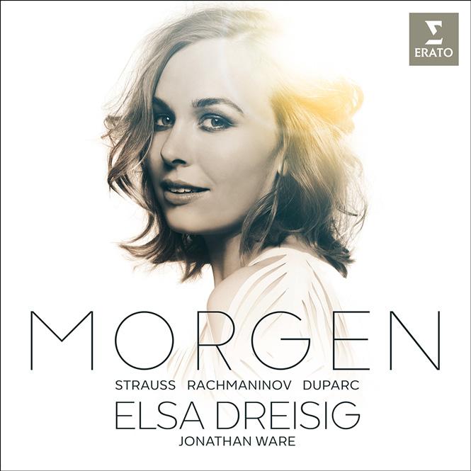 Elsa Dreisig: Morgen | Elsa Dreisig (sopran), Jonathan Ware (klaver) | Erato 9029531948 |Magasinet KLASSISK