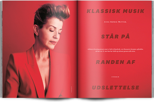 »Klassisk musik står på randen af udslettelse« | Interview Anne-Sophie Mutter | Magasinet KLASSISK
