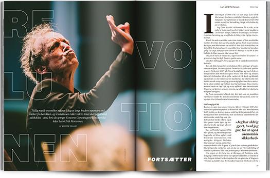 Revolutionen fortsætter | Interview Lars Ulrik Mortensen I Magasinet KLASSISK