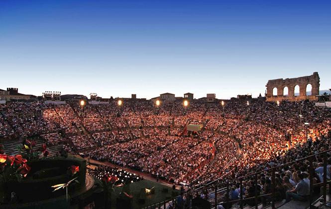 Arena di Verona | Alternativ sommerfestival afløser operafest | Magasinet KLASSISK