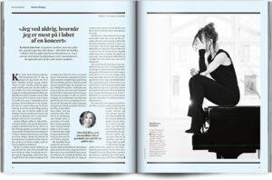»Jeg er nysgerrig, når jeg lytter til andre pianister« | Interview Katrine Gislinge | Magasinet KLASSISK