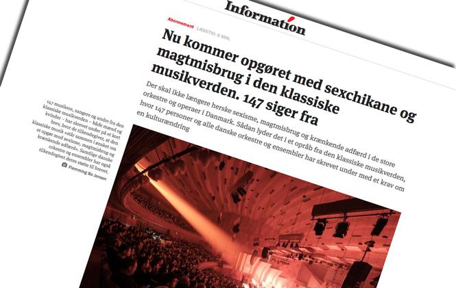 Nyt forsøg på #MeToo granskning af den klassiske scene i Danmark | Magasinet KLASSISK