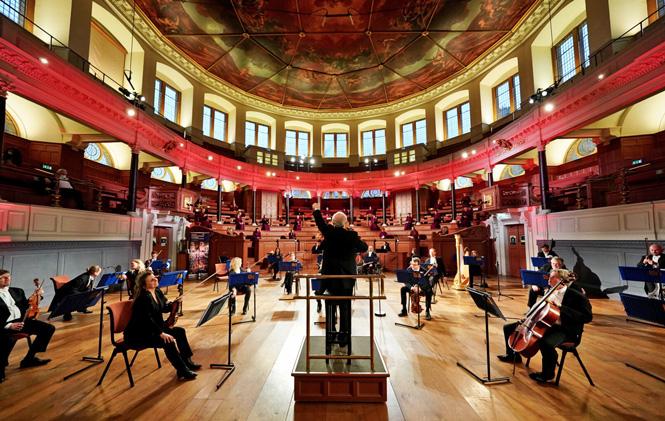 Orkester hylder corona-forskere med koncert   Magasinet KLASSISK