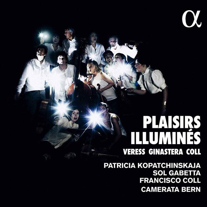 Patricia Kopatchinskaja: Plaisirs illuminés | Alpha 580 | Magasinet KLASSISK