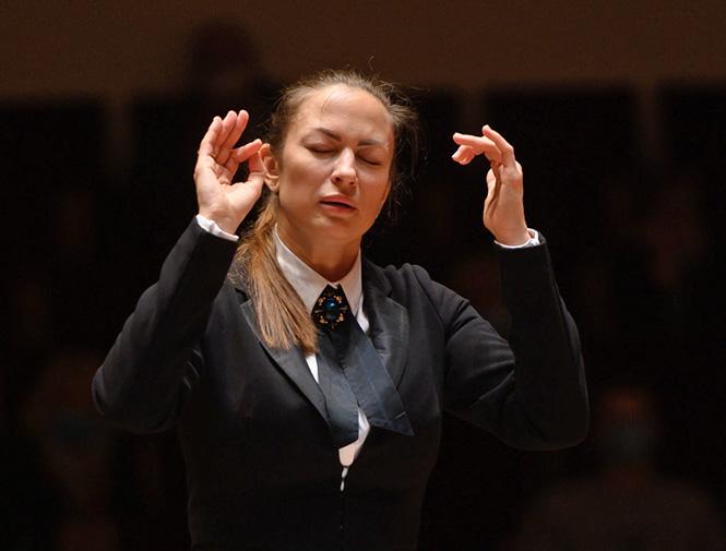 Første kvindelige chefdirigent ved et af de store russiske musikhuse |Magasinet KLASSISK