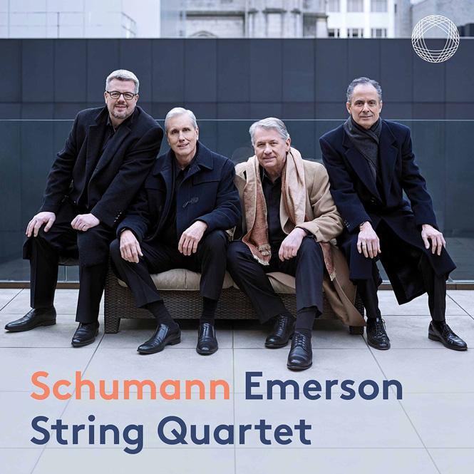 Schumann: Strygekvartetter | Emerson String Quartet | Pentatone PTC5186869 | Magasinet KLASSISK