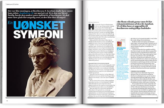 En uønsket symfoni   Fokus Beethovens 10.   Magasinet KLASSISK