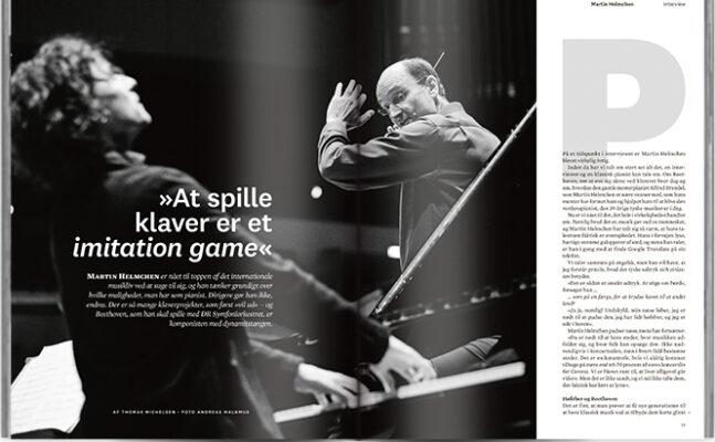 »At spille klaver er et imitation game«   Interview Martin Helmchen   Magasinet KLASSISK