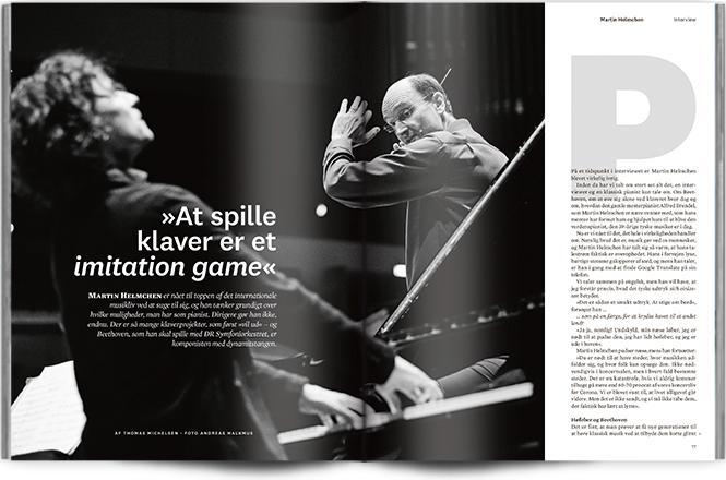 »At spille klaver er et imitation game« | Interview Martin Helmchen | Magasinet KLASSISK